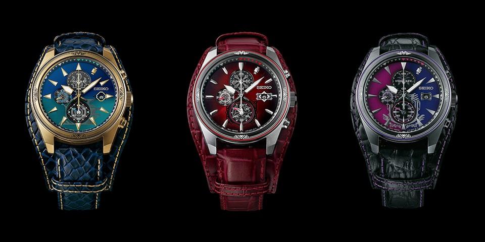Seiko x 《Monster Hunter》15 週年紀念腕錶系列正式發佈