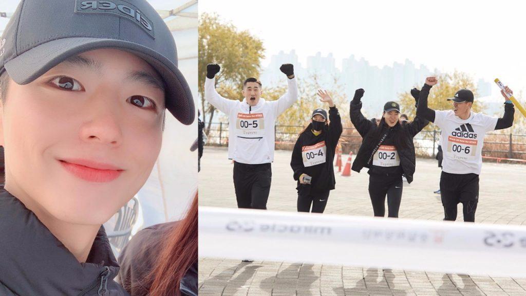 Sean邀請朴寶劍-成勛-金東炫-景收真參加公益活動,組隊完成接力跑!