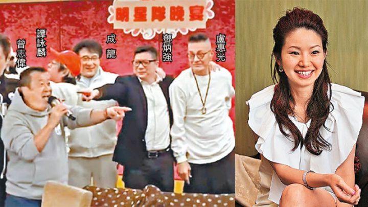 【市民無語】鄧炳強向成龍等藝人獻媚張寶華:真係難為香港人