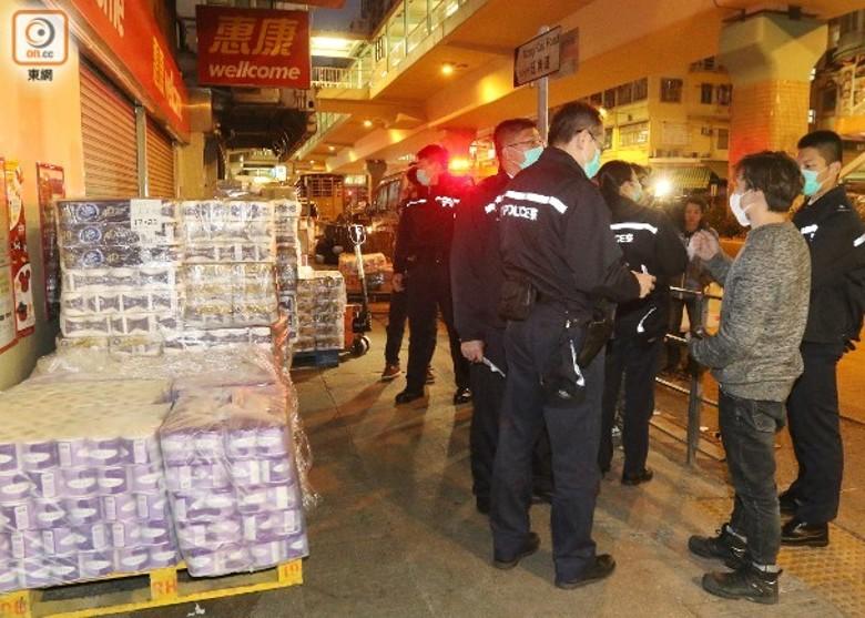 旺角廁紙劫案3男子落網兩人仍在逃